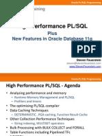 High Performance PLSQL Plus 11g