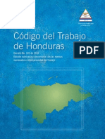 Codigo del Trabajo Hondureño