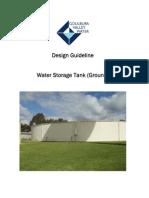 Design Guidelines Water Storage Tank Ground