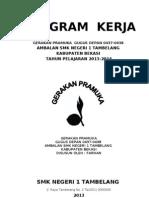 Draft Program Kerja Pramuka Sagasta