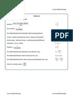 Edexcel Science 2011 P3 Sample exam