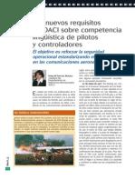 Competencia Linguistica para Controladores y Pilotos
