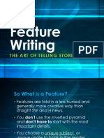 Presentation 3 Feature Writing.ppt