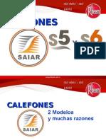 SAIAR CALEFONES S5 y S6