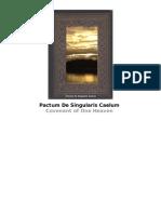 Covenant of One Heaven Pactum de Singularis Caelum