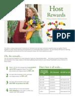 Host Rewards Flyer