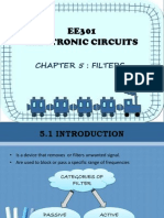 EE301 Electronic Circuit Chapter 5 - FILTERS
