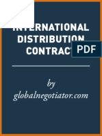 INTERNATIONAL DISTRIBUTION CONTRACT