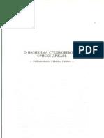 Mihailo Dinic, O nazivima srednjevekovne srpske drzave - Sklavonija, Srbija, Raska