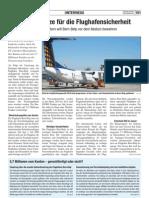 Finanzspritze für die Flughafensicherheit