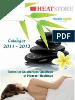 Catalogue 2011 2012 Heatstore Eb