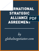 INTERNATIONAL STRATEGIC ALLIANCE AGREEMENT