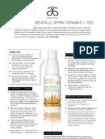Nutritional Spray