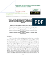 Effect of the Process Parameters on the Surface Roughness During Magnetic