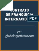 CONTRATO DE FRANQUICIA INTERNACIONAL