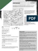 m1180093 Forward Command Bunker