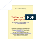 Addition Pensees Philo