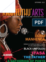 Kwantunthu Arts Magazine September 2013