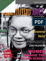Kwantunthu Arts Magazine August 2012
