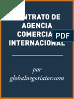CONTRATO DE AGENCIA COMERCIAL INTERNACIONAL
