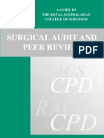 Surgical Audit Peer Review
