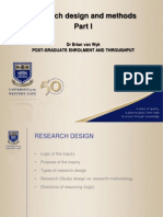 Research and Design I