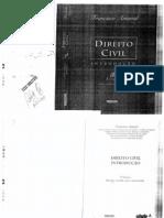 Direito Civil Francisco Amaral - Até Capítulo VI