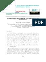 A Comparison of Multiple Wavelet Algorithms for Iris Recognition-2