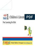 Fun Learning For Kids - Children's Literature
