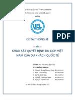 Đề tài nguyên nhân chọn Việt Nam của khách du lịch nước ngoài