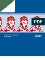 Enquête Démographique et de Santé (EDST) Tchad, 2004 (Septembre 2005)