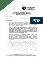 Dictamen de Contadores Forenses ONG en el caso Lázaro Báez