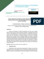 Step Variation Studies of Arm7 Microcontroller Based Fuzzy Logic