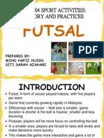 Introduction FUTSAL