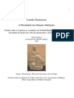 A Pluralidade Dos Mundos Habitados (Camille Flammarion)