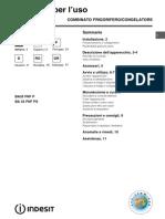 Manual Indesit BA3 FNF P