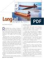 wooden Coorong Longtail Boat Plans