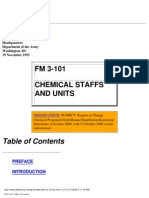 US Army Chemical Staffs and Units 1993