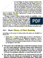 Theory of Plate Bending