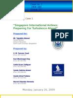 CASE ANALYSIS HRM 380 (TuA) - Singapore International Airlines
