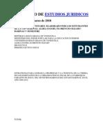 Proyecto de Estudios Juridicos
