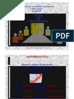 UMF Carol Davila. Neurologie Curs 07. Sensibilitatea