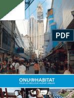 "ONU-HABITAT - ""Pour un meilleur avenir urbain"""