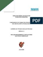 Módulo II Realizar mantenimiento a instalaciones electricas comerciales