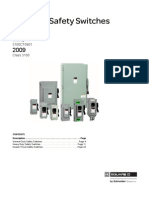 Catalogue Square-d Enclosed Safety Switches