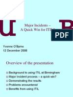 Major Incidents –pdf