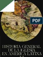 Historia General de La Iglesia Tomo I