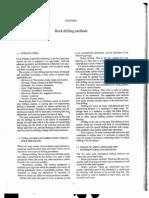 Chapter 1 Rock Drilling Methods