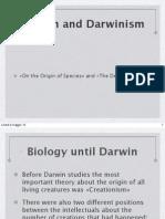 Darwin and Darwinism