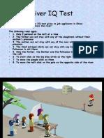 River IQ Test